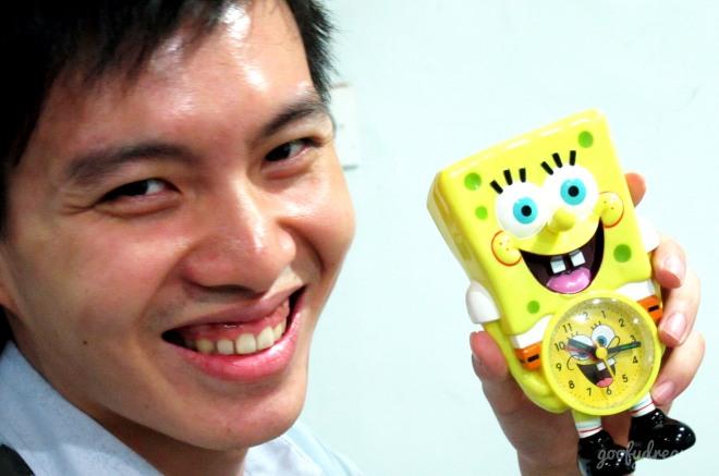 Saya suka ekspresi Spongebobnya hehehe.