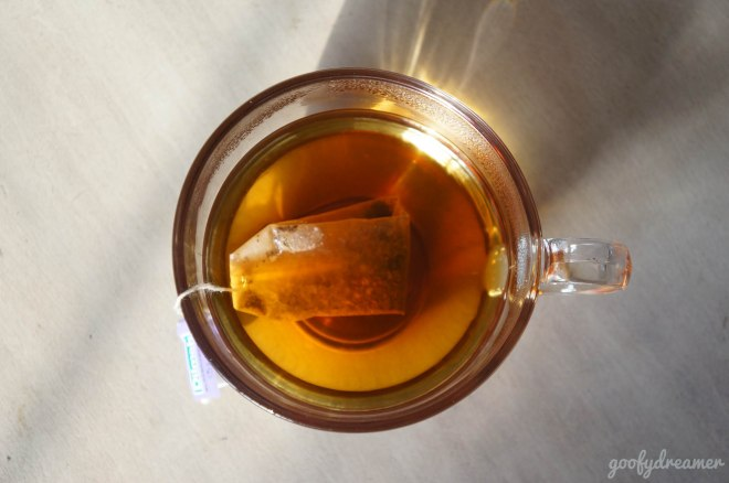 Just a cup of tea. Let the late afternoon shine tell you how was great this tea.