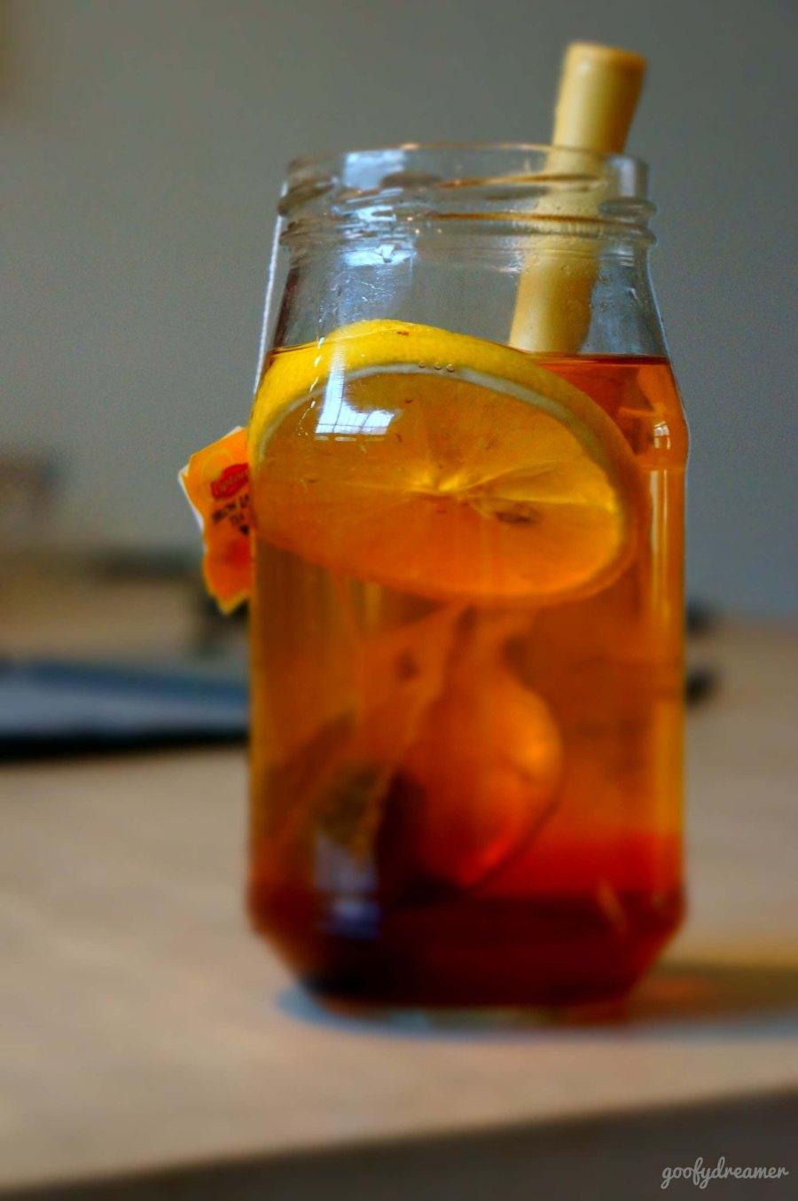 Tea everytime. Tea in my bottle.