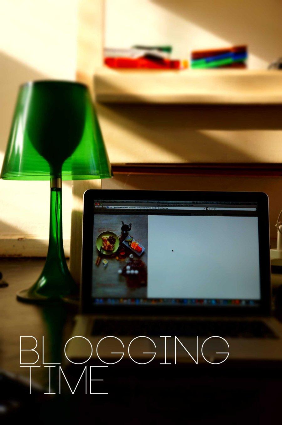 Blogging Time
