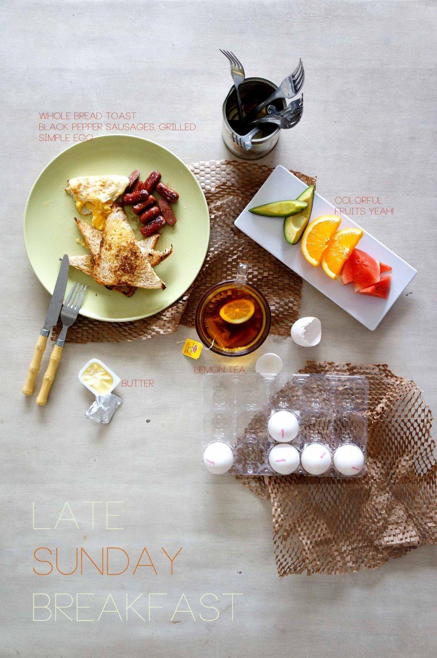 Late Sunday Breakfast