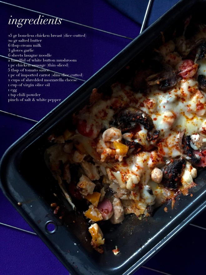 Chicken Lasagne3